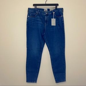 Everlane Med Wash The Mid-Rise Skinny Jean Sz 35T